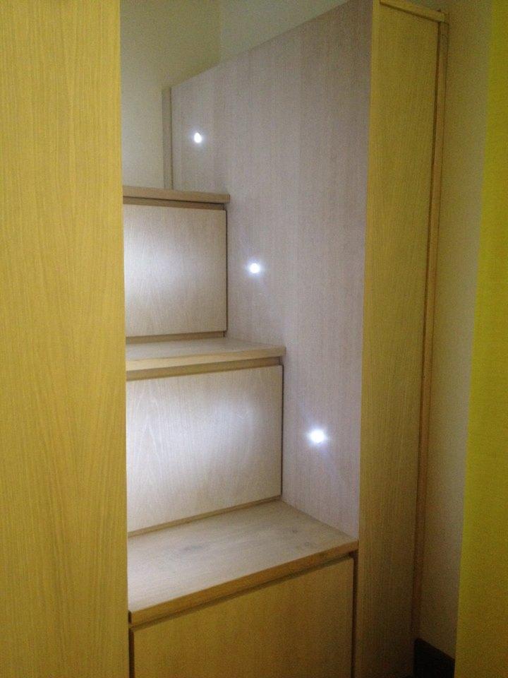 Armadio camera armadio su misura arredamentiroma for Armadio per studio
