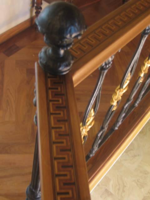 Casa classica in noce arredamenti su misura roma for Piani casa artigiano canada