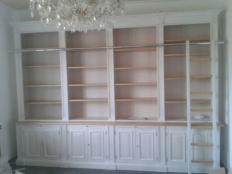 Libreria Chiusa Con Ante In Vetro.Librerie Su Misura Roma Librerie Su Misura Arredamentiroma