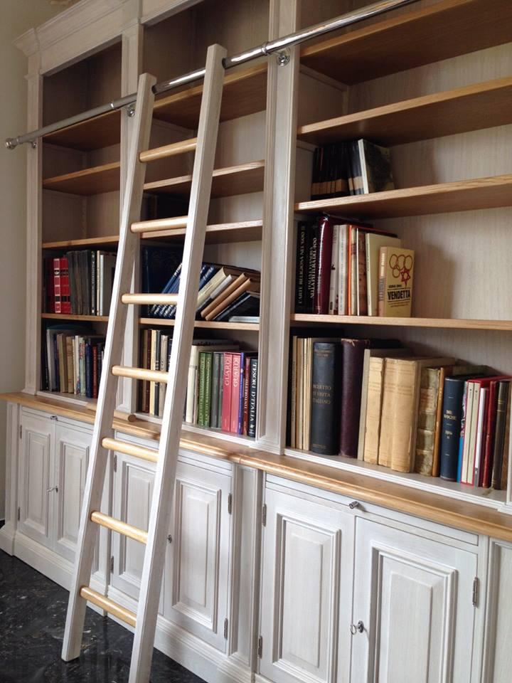 Libreria rovere arredamenti su misura roma for Ad arredamenti roma