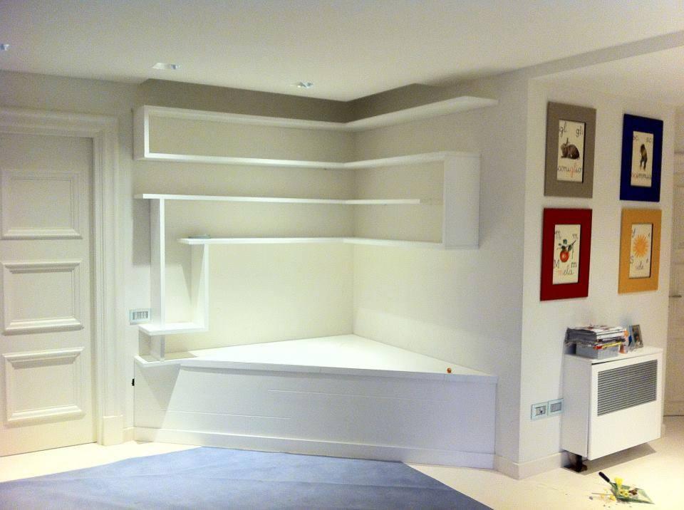 Librerie su misura roma librerie su misura arredamentiroma - Libreria angolare ikea ...