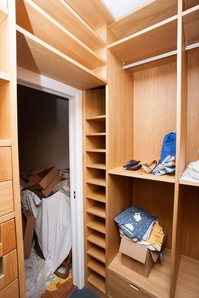 Armadio camera armadio su misura arredamentiroma - Camere da letto rovere sbiancato ...