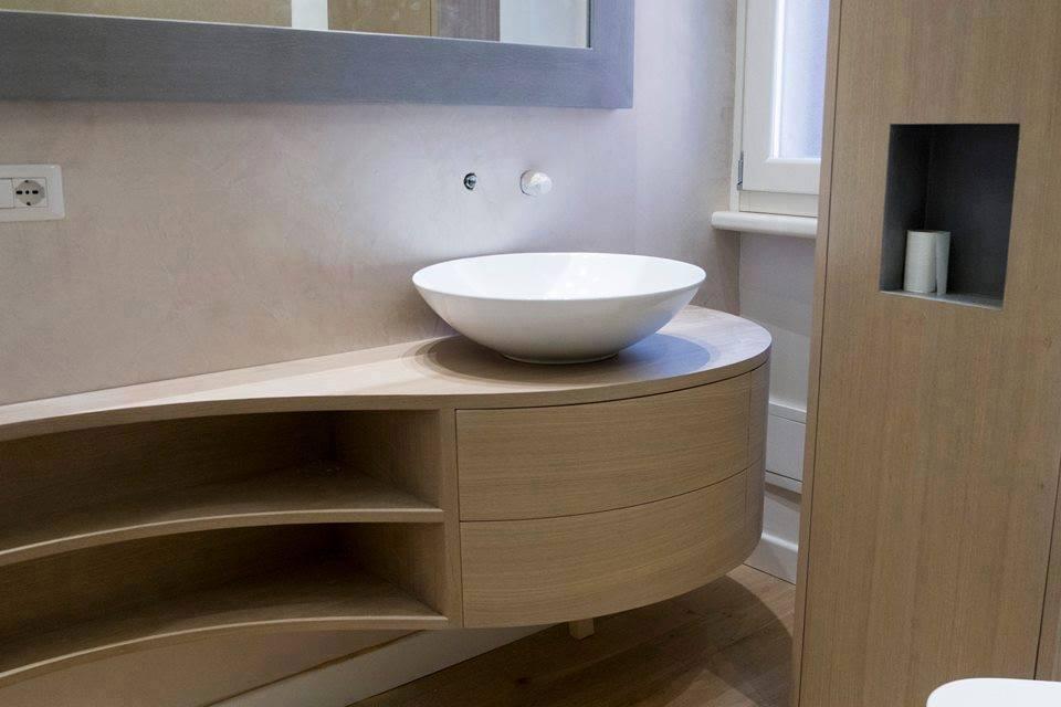 Mobili bagno roma bagni su misura arredamentiroma - Bagno piccolissimo misure ...