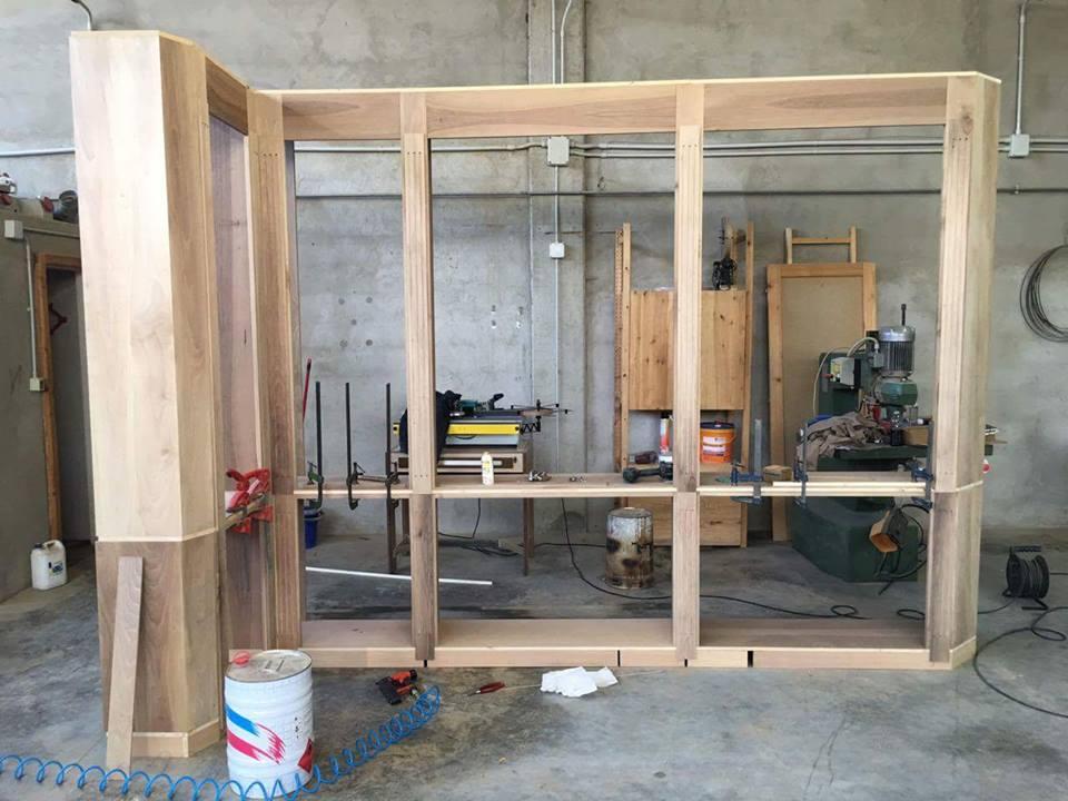 Costruire un mobile arredamenti su misura roma - Costruire un portabottiglie in legno ...